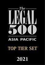 The Legal 500 Asia Pacific 2021