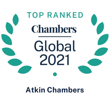 Chambers Global 2021 logo Atkin Chambers